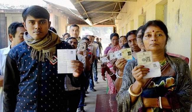 Nearly 60 percent voting in Chhattisgarh upto three o'clock