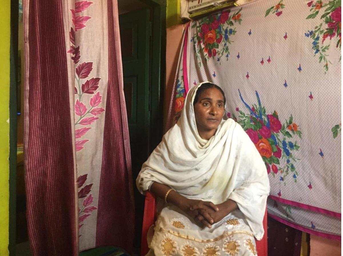 Alimuddin's widow's pain