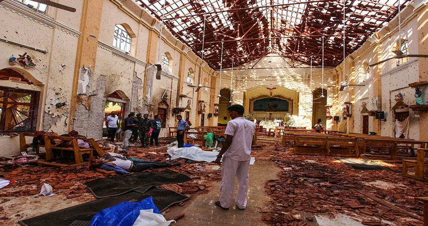 ISIS responsibility for suicidal attacks in Sri Lanka