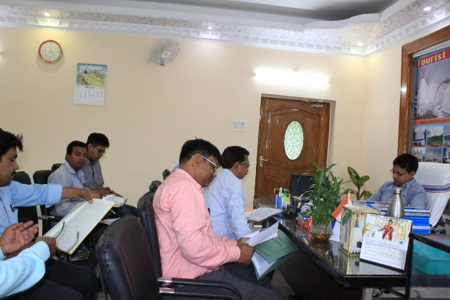 Meeting of Deputy Commissioner on Drinking Water problem