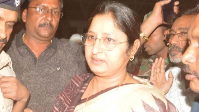 Annapurna Devi seeks votes in Babulal Marandi's stronghold