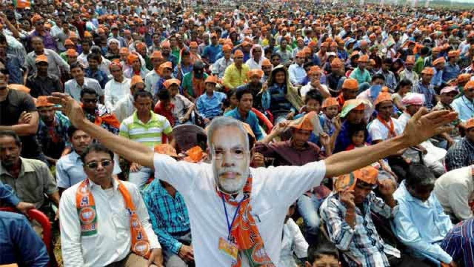 This village of Haryana sends crowds for rallies