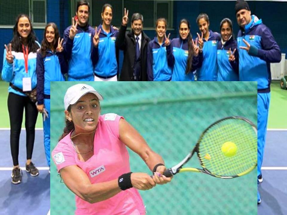 अंकिता दोनों मुकाबले जीतीं भारत ने थाईलैंड को 2-1 से हराया