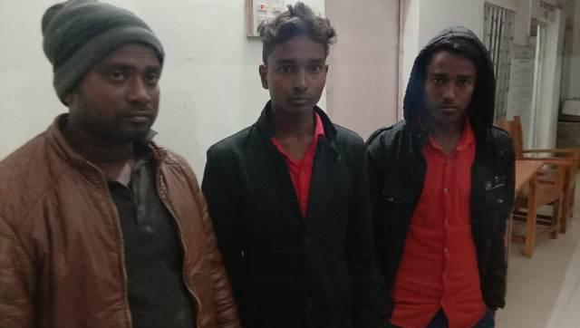 साइबर क्राईम के तीन अपराधियों की गिरफ्तार