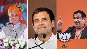Today Rahul, Rajnath and Gadkari rally in Dhanbad