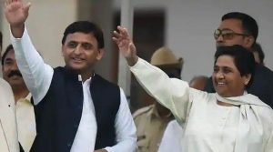 According to a survey, heavy losses and major alliances to BJP in UP