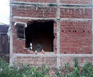 Naxalites blasted BJP office in Kharsavan of Jharkhand