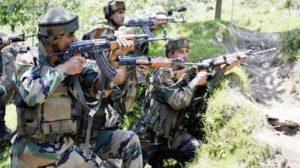 जम्मू कश्मीर के शोपियां में सेना और आतंकियों के बीच मुठभेड़
