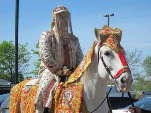 Stampede not getting Mutton in marriage at Katihar